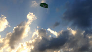 Stock Video Footage of Kite With Clouds