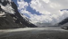 Canada Icefields Parkway Athabasca Glacier time lapse s Stock Footage