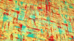 Colorful grunge painted canvas pan loop Stock Footage