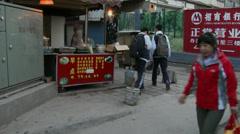 Xi'an backstreets 7 Stock Footage