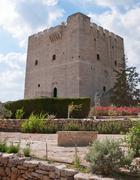 kolossi castle, limassol, cyprus - stock photo