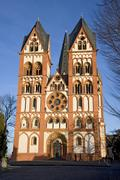 Cathedral in Limburg, Germany - stock photo