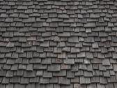 Stock Photo of worn wooden shingles