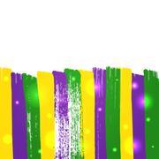 Grunge mardi gras background Piirros