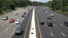 Highway Traffic, Freeways, Expressways Stock Footage