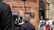 Stock Video Footage of Sarajevo  Assassination 1914