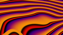 Fractal Lines Orange - LoopNeo VJ Loops HD 1920X1080 Stock Footage