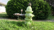Stock Video Footage of Fire Hydrant