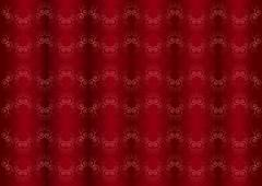 Stock Illustration of Gentle pink iridescent pattern on the wavy red burgundy background