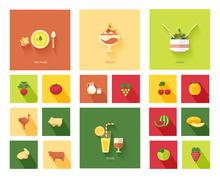 restaurant menu designs - stock illustration