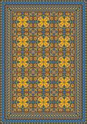 Stock Illustration of Pompous classic pattern for carpet