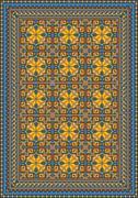 Pompous classic pattern for carpet - stock illustration