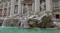 Italy, Rome, fountain Trevi. Footage