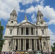 London St Pauls Cathedral Stock Photos