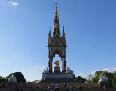London Albert Memorial Stock Photos