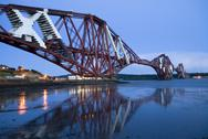 Stock Photo of forth railway bridge (edinburgh)
