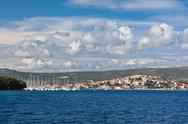 Stock Photo of marina frapa, rogoznica, croatia, view