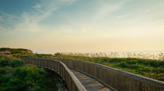 Sunrise at Satellite Beach Stock Footage