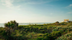 Early Morning in Satellite Beach, Florida Stock Footage