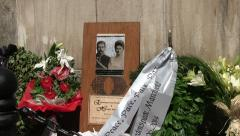 100 Year commemoration of Archduke Franz Ferdinand in Sarajevo  Assassination - stock footage