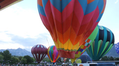 Balloon inflating Stock Footage