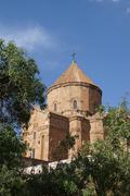 Armenian church of the holy cross Stock Photos