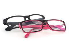 Eye glasses Stock Photos