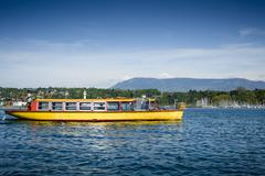 Ferry boat on Lake Geneva Kuvituskuvat