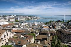 Geneva from above Kuvituskuvat