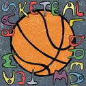 Stock Illustration of Basketball ball hand drawn poster design. Vector