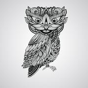 Stock Illustration of vector owl
