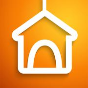Applique doghouse icon frame. Vector illustration Stock Illustration