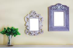 Picture photo frame on wall Kuvituskuvat