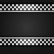 Metallic gray sheet - stock illustration