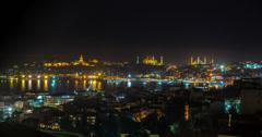4K Bosphorus View in Istanbul Stock Footage