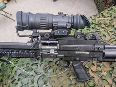 Machine gun dutch military Stock Photos