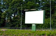 Stock Photo of blank advertising billboard