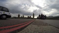 Big ben and the houses of parliament @ 1080 Stock Footage