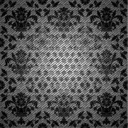 Abstract background, ornamental metal texture Stock Illustration