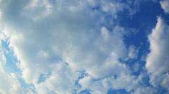 Kaunis kirkas Clouds in Time-lapse (ei linnut). Laajakulma. 4K. Arkistovideo