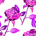 Stock Illustration of seamless pattern with roses, for invitations, cards, scrapbooking, print