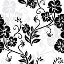 Stock Illustration of seamless pattern with flowers, for invitations, cards, scrapbooking, print