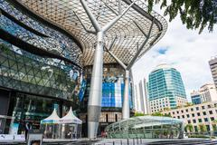 Singapore - june 18 : day view of ion orchard shopping mall onjune 18, 2014 i Stock Photos