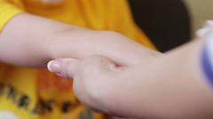 Mantoux test tuberculin Stock Footage