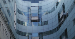 Headquarters of the BBC - 4K Stock Footage