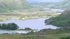 Ladies View Overlook at Killarney National Park Stock Footage