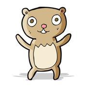Stock Illustration of cartoon teddy bear