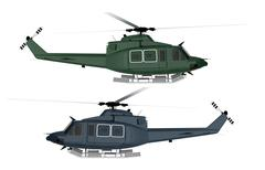 rescue helicopter isolated. - stock illustration