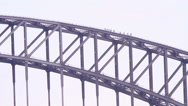 Stock Video Footage of Truss structure of bridge