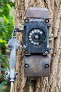 Old black telephone Kuvituskuvat